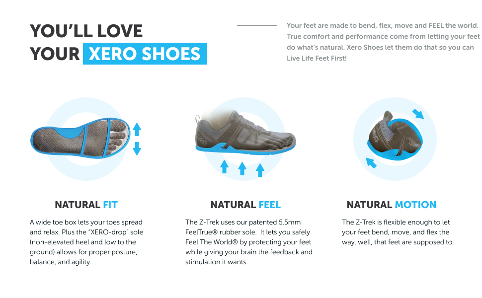 natural fit natural feel comfortable foam insole natural motion easily bendable packable footwear
