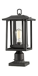 Outdoor Post Light Beionxii Exterior Post Lantern Oil Rubbed Bronze