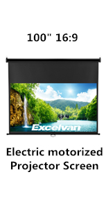 Amazon.com: 1080P Projector,Excelvan HD Video Projector 24W ...