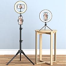2 Stable Tripods for Floor & Desk