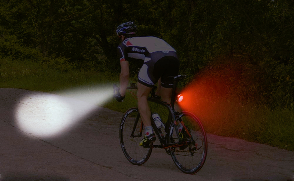 BeiLan Luces Bicicleta Recargable LED, Luz para Bicicleta por USB ...