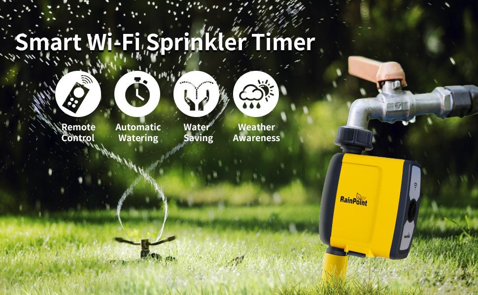Wifi Sprinkler Timer