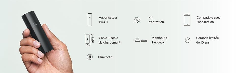 pax pax3 vaporizateur vaporisateur vape vapo herbe kit volcano davinci ecigarette portable premium