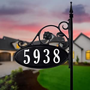 Sign Types Available Yard Address Wall-Mount Post and Mailbox RV and Camping Signs