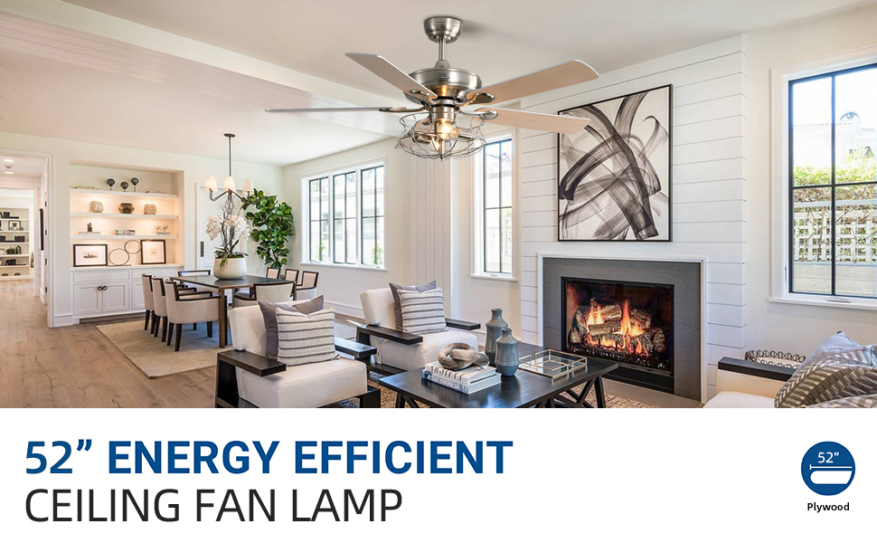 Sofucor Indoor Ceiling Fan