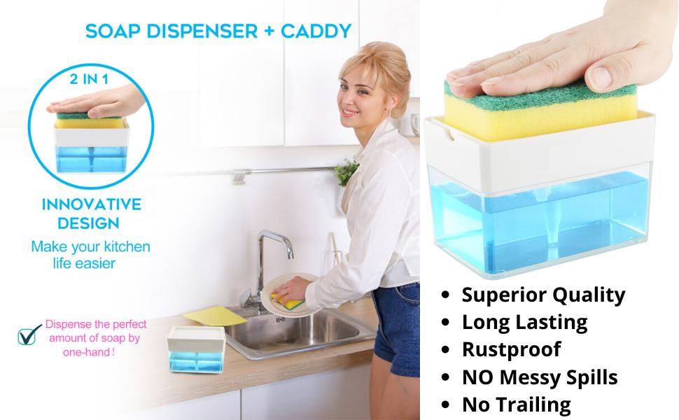 soap dispenser dish soap dispenser hand sopa dispenser kitchen soap dispenser caddy soap dispenser