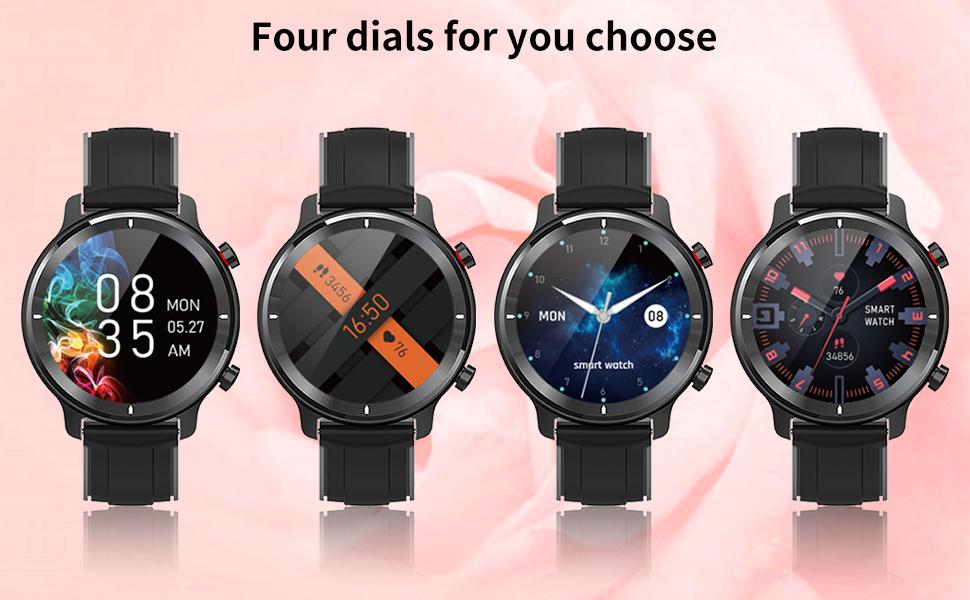 Four dials for you choose
