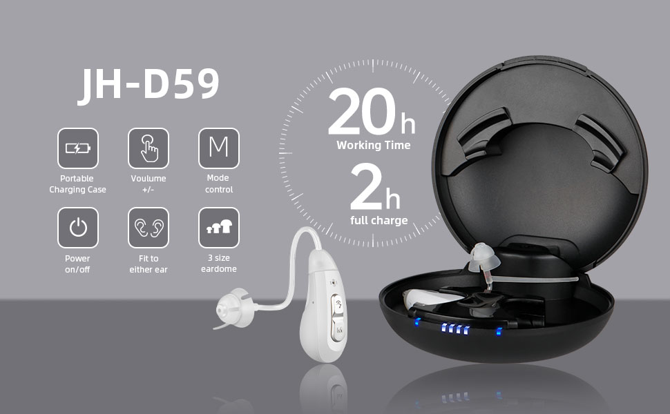 rechargeable hearing amplifier