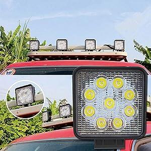 led arbeitsscheinwerfer 12v traktor