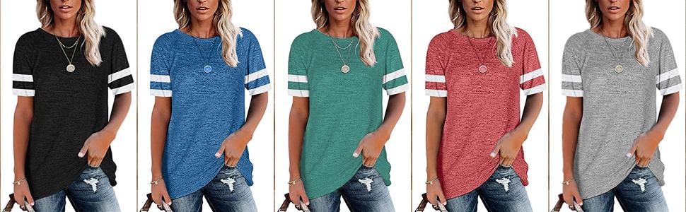 Womens short sleeve tshirts
