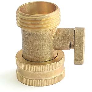 Solid Brass Shut off valve