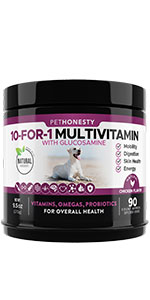 PetHonesty 10-for-1 Multivitamin Chews