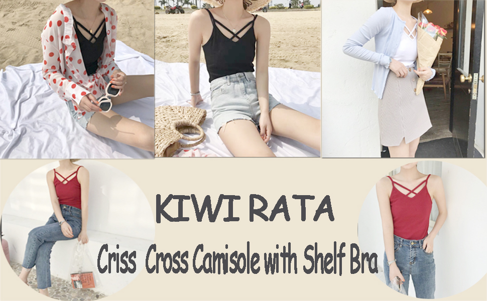 Criss Cross Women Camisole