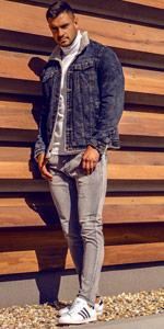 Bolf Jeans jacke
