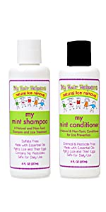 lice shampoo and conditioner