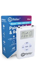 ireliev TENS + EMS recovery system