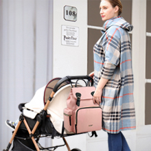 Hafmall Nappy Backpack, Stylish and Waterproof