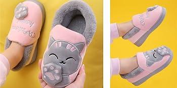 Pantofole Ragazze Inverno Pantofole Ragazzi Warm Scarpe di Cotone Slipper Antiscivolo