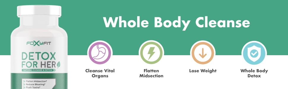 Whole Body Cleanse Vital Organs Flatten Midsection Lose Weight Whole Body Detox