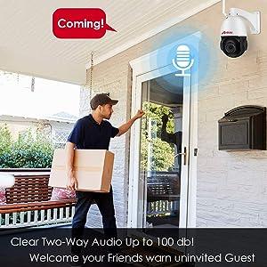 Home security ptz camera