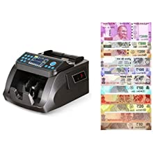 Currency/MoneyCountingMachine with UV/MG Counterfeit Bill Detection, Worldwide Bill Counting Machine