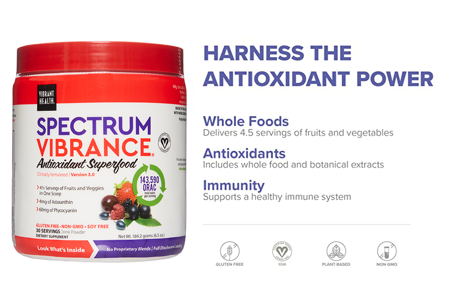 Harness the antioxidant power