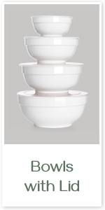 bowls with lid