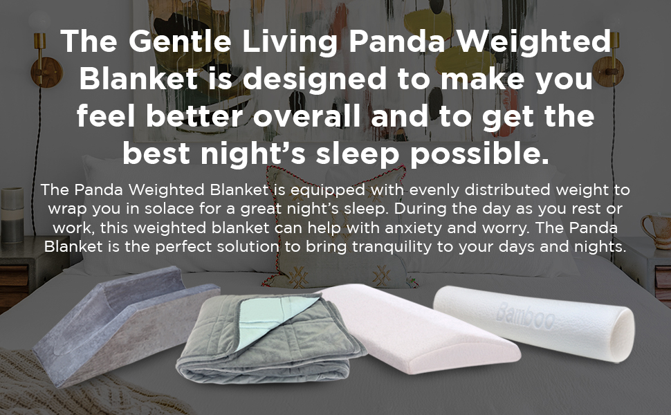 weighted blanket recovery rest snug comfort soft
