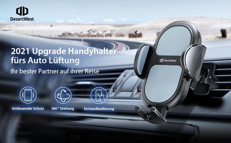 Desertwset Handyhalterung Auto Lüftung Dickeres Elektronik
