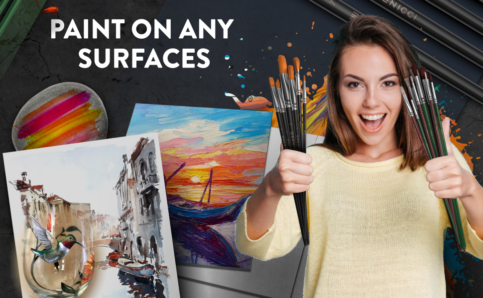 Paint on any surfaces