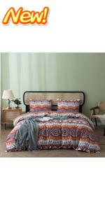 Boho Pattern Duvet Cover Set