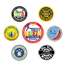 RingStix awards for being a great outdoor games for children kids family friends
