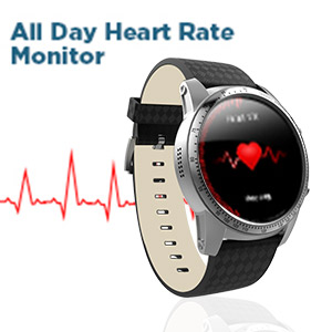 all day heart rate monitor by smartwatch