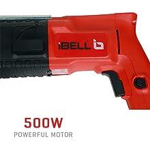 500W Powerful Motor