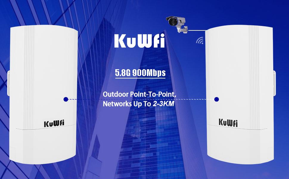 KuWFi wifi bridge