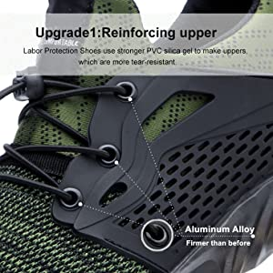 Safety shoes upgrade 1