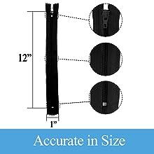 KGS black zippers 4