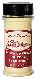 Amish Country Popcorn White Cheddar Cheese Seasoning Topping Flavor