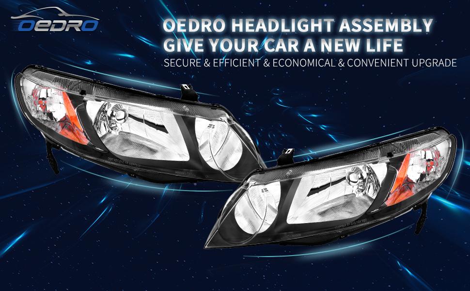 2006-2011 Honda Civic Headlights