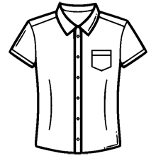 Modern slim fit shirt