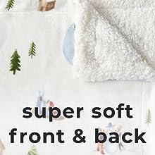 super soft front back
