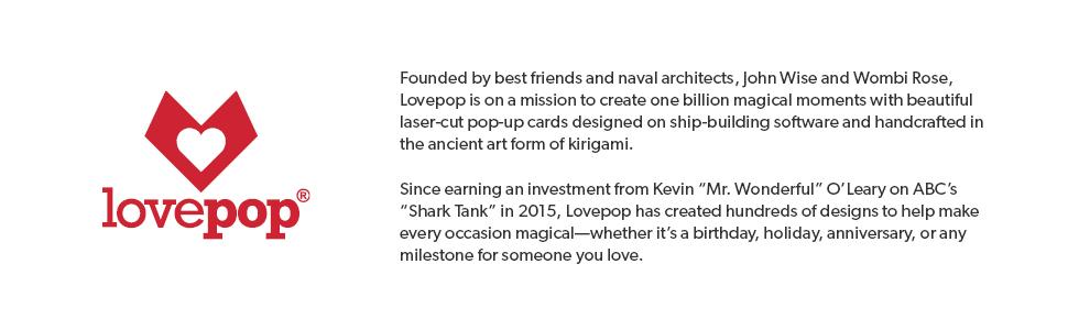 lovepop, pop up cards, pop up birthday cards, pop up greeting cards, 3D pop up greeting cards