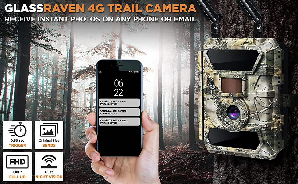 cellular game cameras 4g