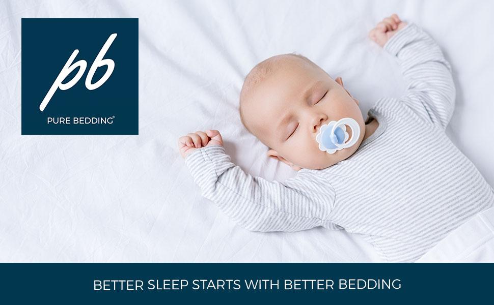 Pure Bedding Bed Sheets Bedsure Mellanni LuxClub AmazonBasics Sonoro Danjor Linens Utopia Bedding