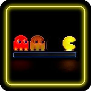 Pac-Man iconos de color de luz fase modo