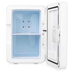 mit Temperaturregelung AstroAI Mini K/ühlschrank 6 Liter K/ühlschrank Haushalt und Reisen Muttermilch Kosmetik AC // 12V DC Tragbarer thermoelektrischer K/ühler und W/ärmer f/ür Schlafzimmer