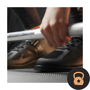 Scarpe da bodybuilding, da uomo, per sollevamento pesi, sollevamento pesi