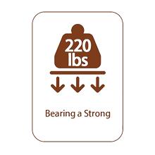 bearing a strong