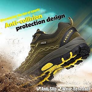 DimaiGlobal Chaussures de Randonn/ée Antid/érapantes Trekking Promenades Montantes Imperm/éable Sports Sneakers pour Homme Femme