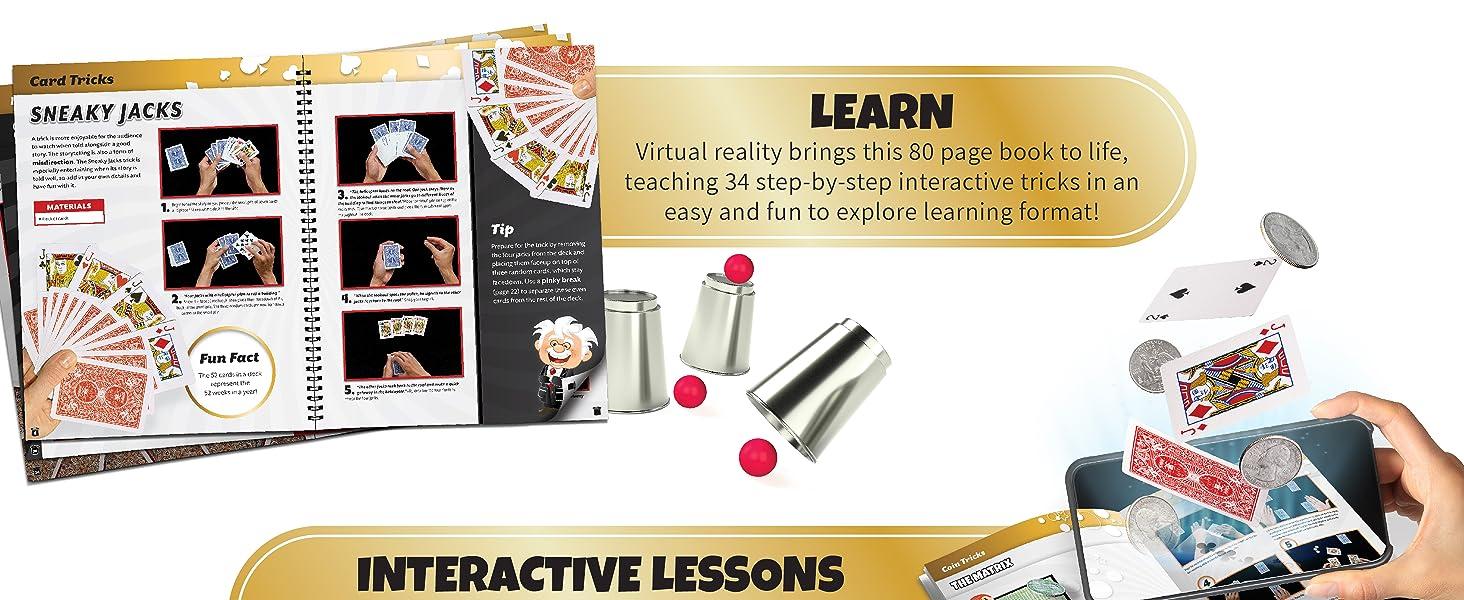 vr virtual reality magic magician kids